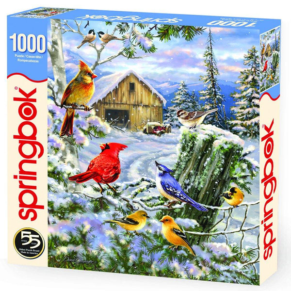 Frosty Morning Song 1000 Piece Jigsaw Puzzle