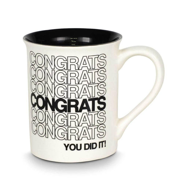 """Congrats You Did It"" Mug"
