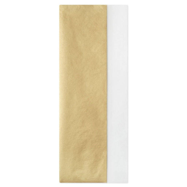 Hallmark : Gold and White 2-Pack Tissue Paper, 6 sheets