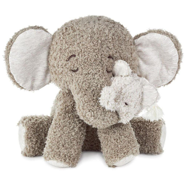 Grandma and Baby Elephant Stuffed Animal Set, 10""