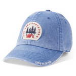 Life Is Good : Great Outdoor Patch Sunwashed Chill Cap