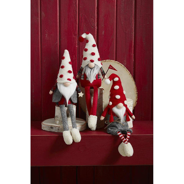 Mud Pie : Pom Pom Dangle Leg Gnomes