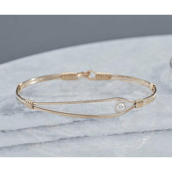 Ronaldo Jewelry : Second Chance Bracelet in Gold