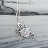 Shine Life : Moon & Back Necklace - Annie's Hallmark Baldoria