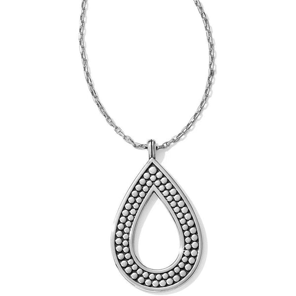 Brighton : Pebble Open Teardrop Necklace