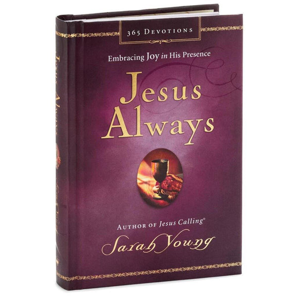 Hallmark : Jesus Always: Embracing Joy in His Presence Book