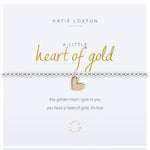 A Little Heart of Gold Bracelet - Annie's Hallmark Baldoria