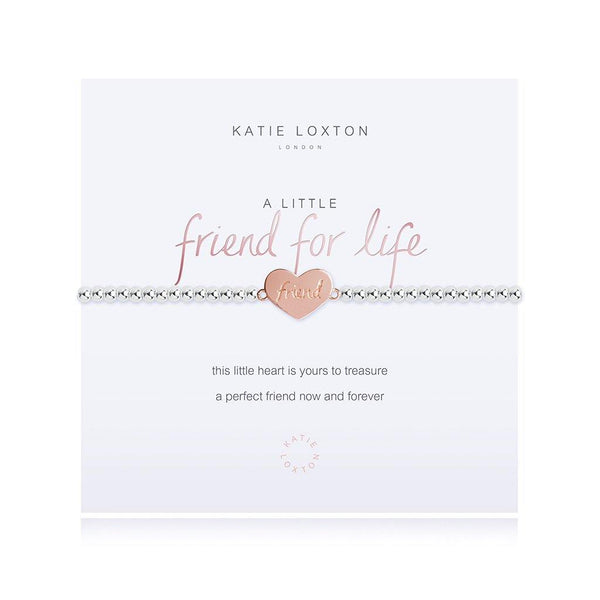 "Katie Loxton : ""A Little Friend For Life"" Stretch Bracelet"