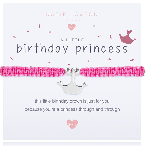 A Little Birthday Princess Bracelet