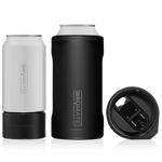 Brumate : Hopsulator Trio 3-In-1 | Matte Black (16oz/12oz Cans)