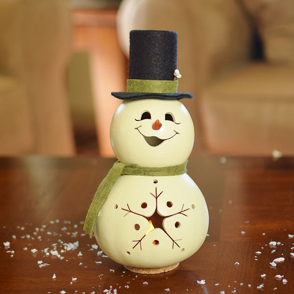 Meadowbrooke Gourds : Snowman - Miniature