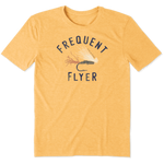 Life Is Good : Men's Frequent Flyer Cool Tee (4 Asstd Sizes)