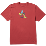 Life Is Good : Men's Guitar Jake Vintage Crusher Tee (3 Asstd Sizes)