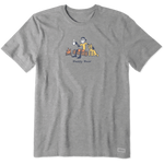 Life Is Good : Men's Happy Hour Vintage Crusher Tee (2 Asstd Sizes)