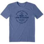 Life Is Good : Men's Positive Lifestyle Truck Cool Tee (2 Asstd Sizes)