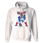New England Patriots 'Minute Moose' Hoodie