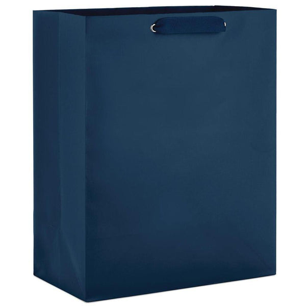 Hallmark : Navy Large Gift Bag, 13""