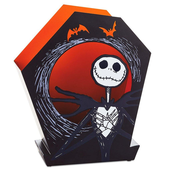 Hallmark : Disney Tim Burton's The Nightmare Before Christmas Jack Skellington Metal Luminary