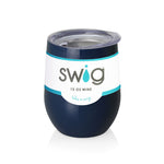 Swig Navy Stemless Wine Cup