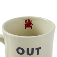 "Life Is Good : ""Out of Office"" Diner Mug"