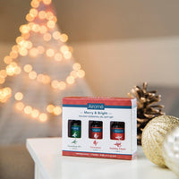 Merry and Bright Holiday Essential Oil Gift Set