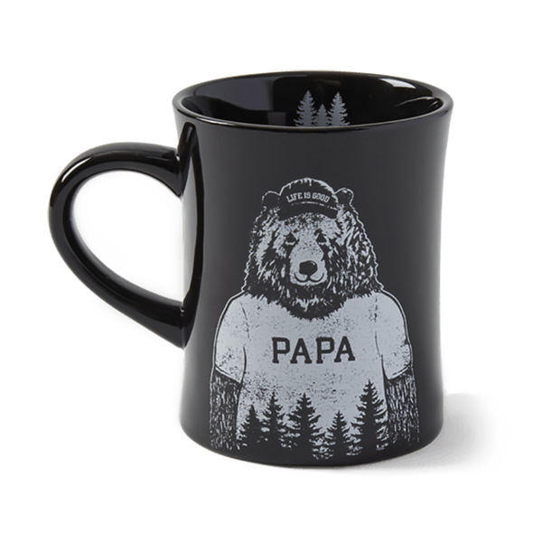 "Life Is Good : ""Papa"" Bear Diner Mug"