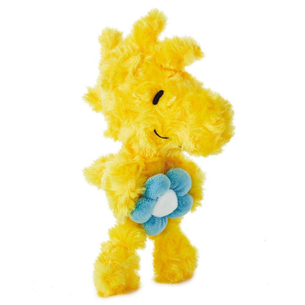 Hallmark : Peanuts® Woodstock With Flower Stuffed Animal, 6.5""
