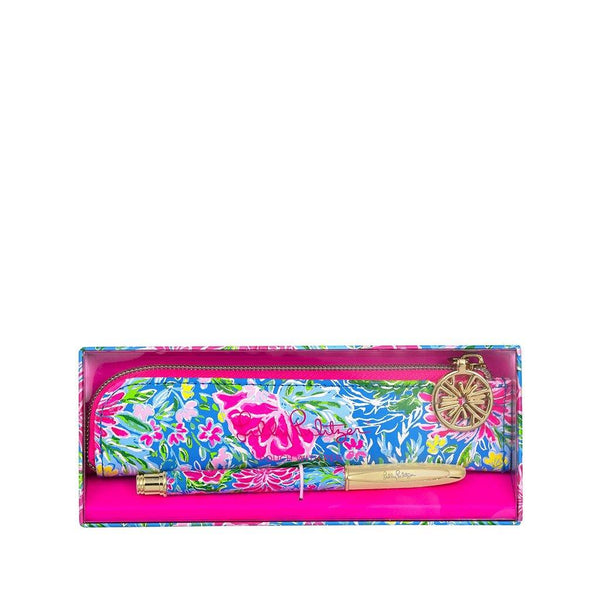 Lilly Pulitzer : Pouch with Pen in Bunny Business - Annie's Hallmark & Gretchen's Hallmark, Sister Stores