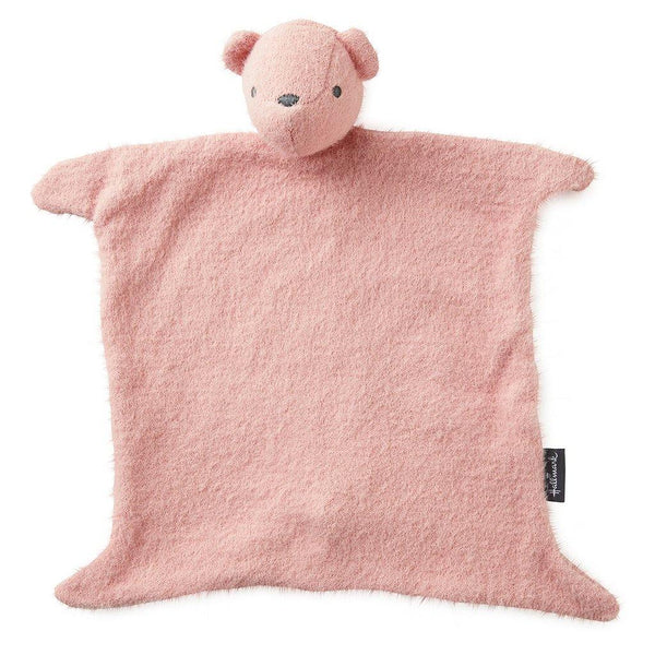 Hallmark : Pink Baby's First Teddy Bear Lovey Blanket