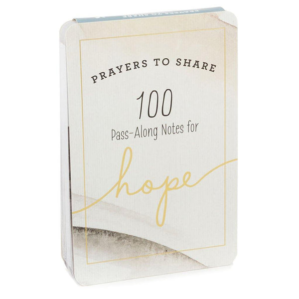 Hallmark : Prayers to Share: 100 Pass-Along Notes for Hope Book - Annie's Hallmark & Gretchen's Hallmark, Sister Stores