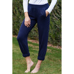 Lakegirl : Navy French Terry Sweatpants