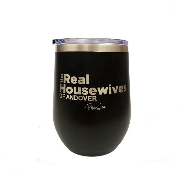 The Real Housewives of Andover Stemless Wine Cup in Black