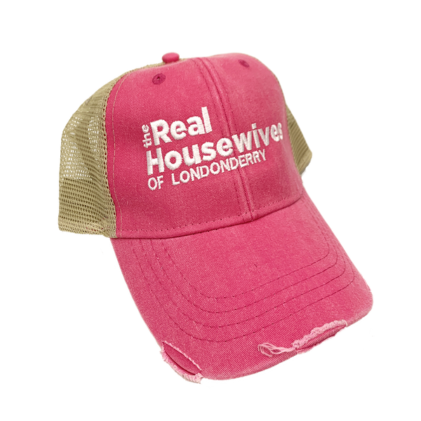The Real Housewives of Londonderry Hat in Pink