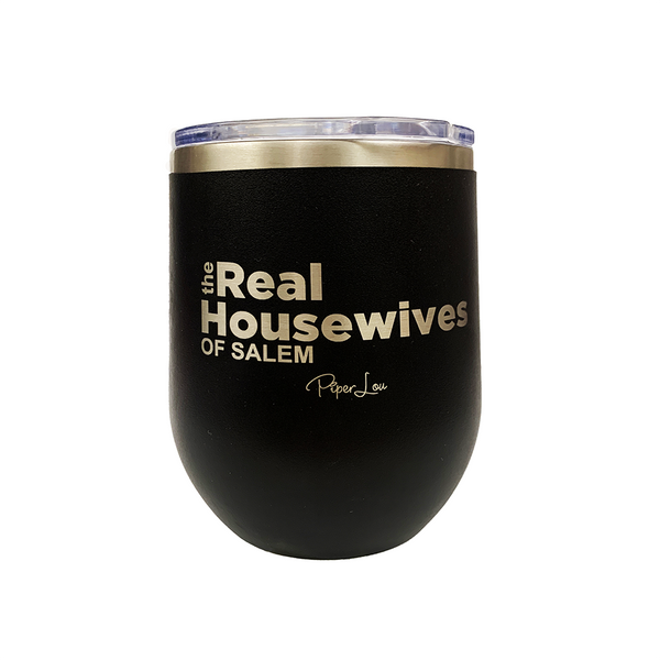 The Real Housewives of Salem Stemless Wine Cup in Black