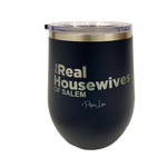 The Real Housewives of Salem Stemless Wine Cup in Navy