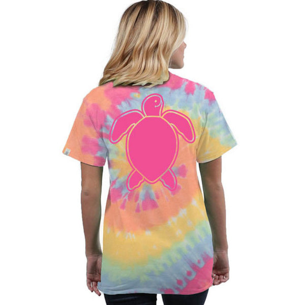 Simply Southern : Washed Island Turtle Tie-Dye T-Shirt