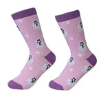 Dog Breed Crew Socks - Maltese