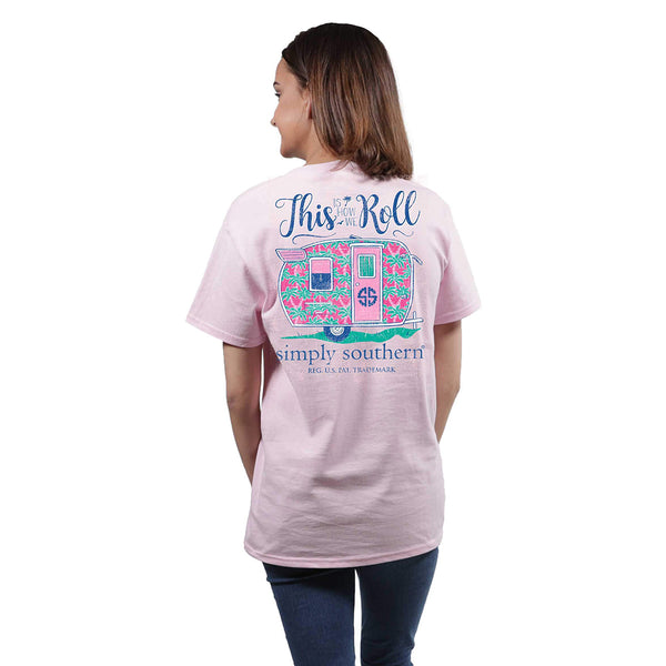 """This Is How We Roll"" T-Shirt - Annie's Hallmark Baldoria"