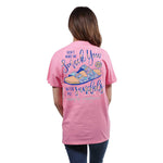 """Don't Make Me Smack You With My Sandals"" T-Shirt - Annie's Hallmark Baldoria"