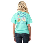 """Call Me On My Shell"" T-Shirt - Annie's Hallmark Baldoria"