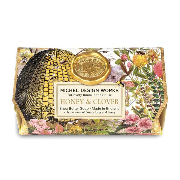 Michel Design Works : Honey & Clover Large Bath Soap Bar