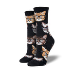Socksmith : Women's Crew Socks - Kittenster