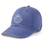 Life Is Good : Sun Waves Sunwashed Chill Cap