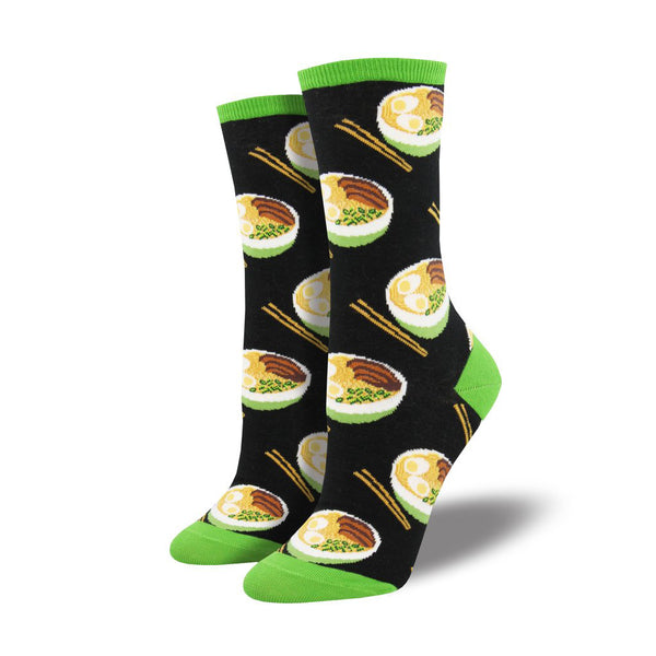 Socksmith : Women's Crew Socks - Use Your Noodle