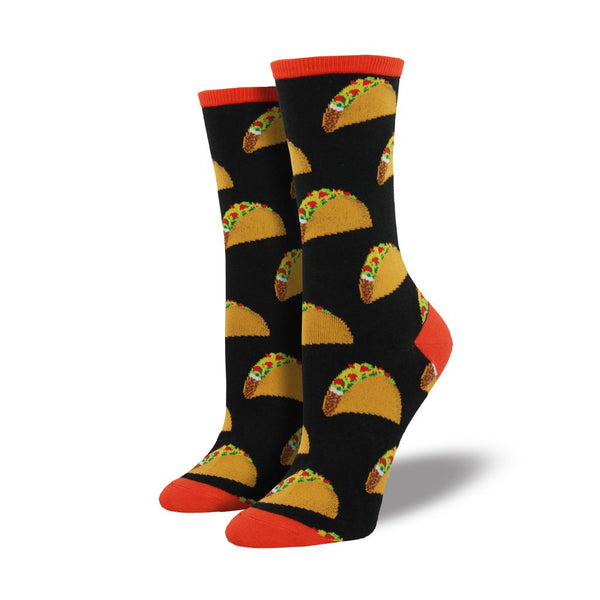 Socksmith : Women's Crew Socks - Tacos