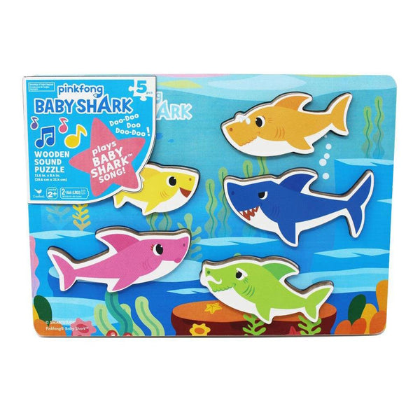 Baby Shark Wood Sound Puzzle