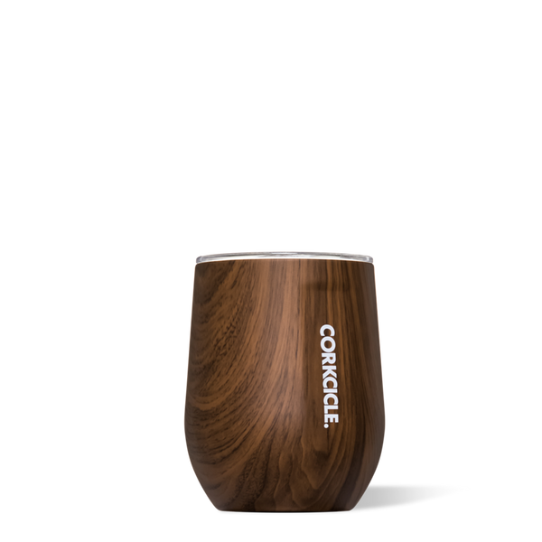 Corkcicle : Stemless Wine Cup in Walnut