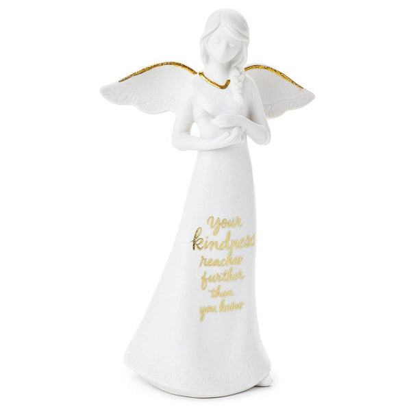 "Hallmark : Your Kindness Reaches Angel Figurine, 8.25"" - Annie's Hallmark & Gretchen's Hallmark, Sister Stores"