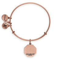 ALEX AND ANI : Future Mrs. Charm Bangle in Rafaelian Rose Gold