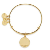ALEX AND ANI More Peace Charm Bangle - Annie's Hallmark Baldoria